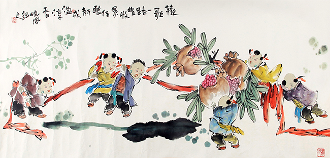 LIU XIAO FENG CHINESE PAINTING (ATTRIBUTED TO)