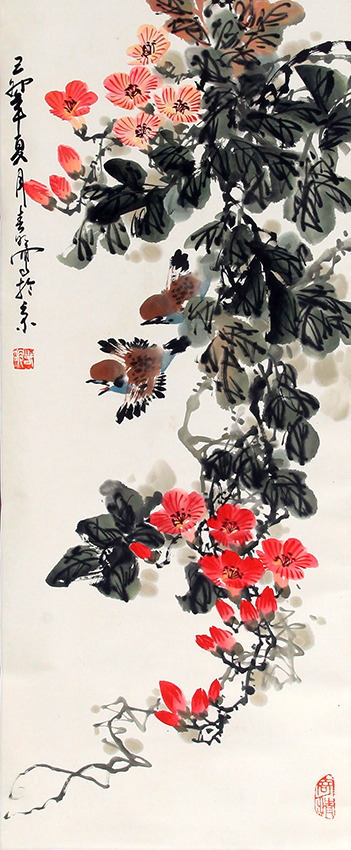 XU MING CHUN CHINESE PAINTING (ATTRIBUTED TO)