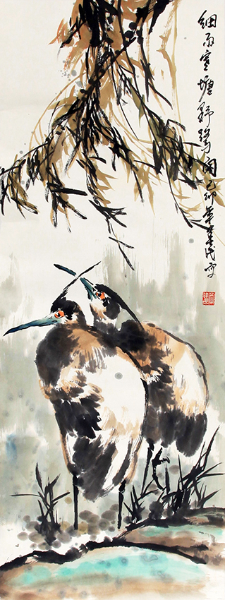 QUE JIAN MIN CHINESE PAINTING (ATTRIBUTED TO)