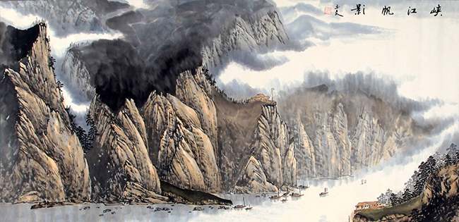 LU YU WEN CHINESE PAINTING (ATTRIBUTED TO)