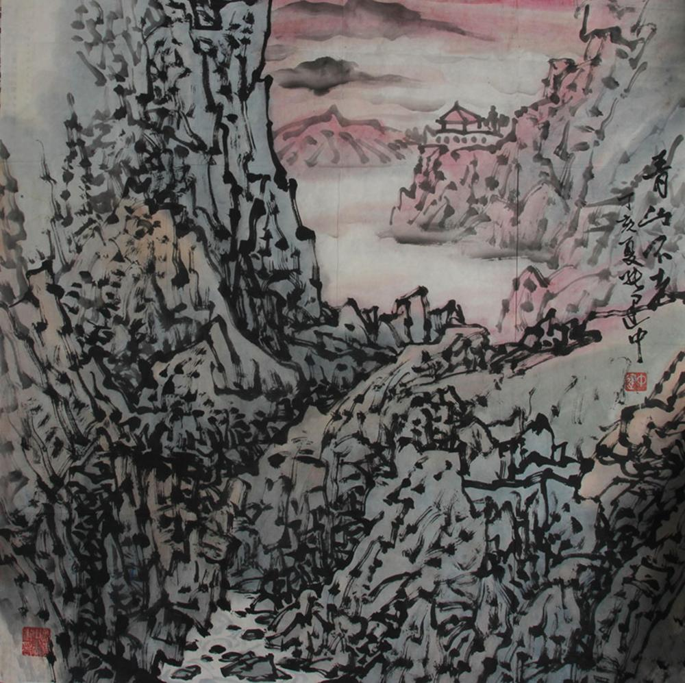 ZHANG JIAN ZHONGCHINESE PAINTING ATTRIBUTED TO