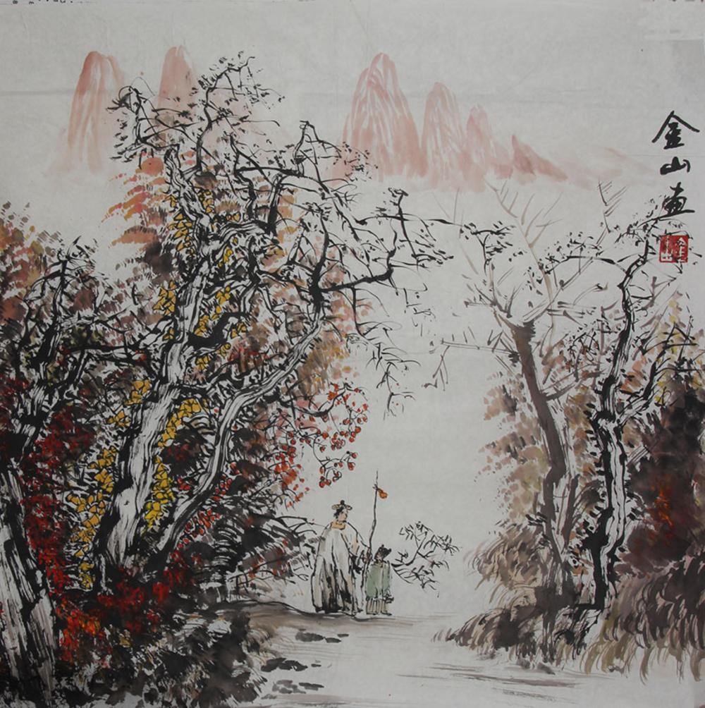 JIN SHAN, CHINESE PAINTING ATTRIBUTED TO