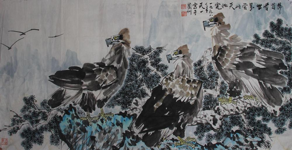 WANG TIAN YICHINESE PAINTING ATTRIBUTED TO