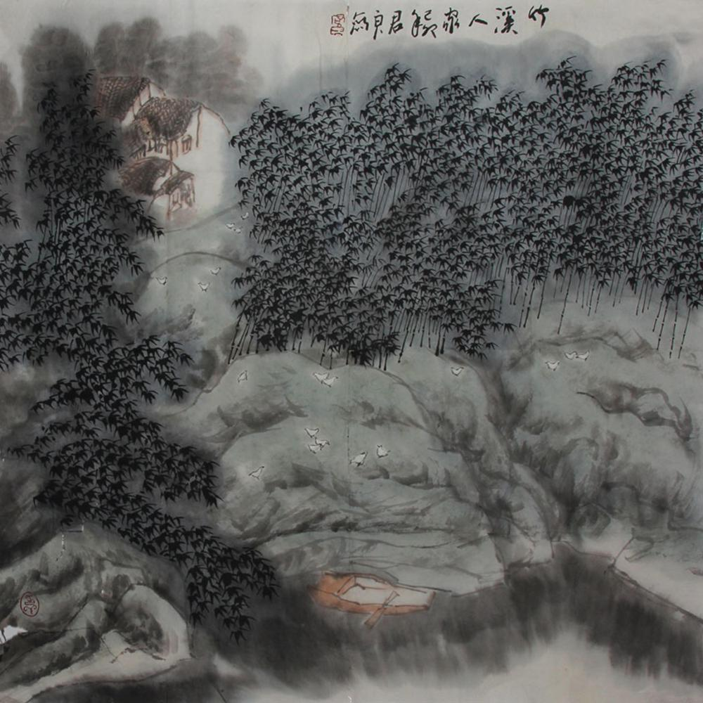 SUN JUN LIANGCHINESE PAINTING ATTRIBUTED TO