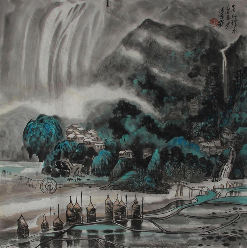 YE WEI CHINESE PAINTING (ATTRIBUTED TO )