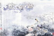 LI SHAN CHINESE PAINTING (ATTRIBUTED TO )