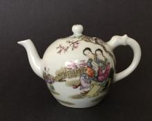 A FAMILLE-ROSE EWER