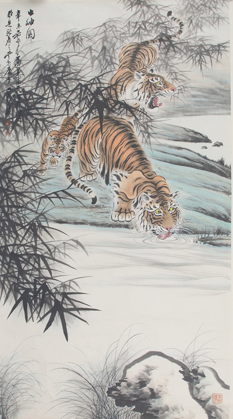 MU LING FEI CHINESE PAINTING ATTRIBUTED TO