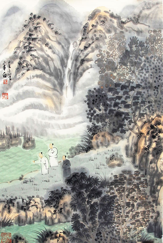 ZHANG JIE CHINESE PAINTING ATTRIBUTED TO