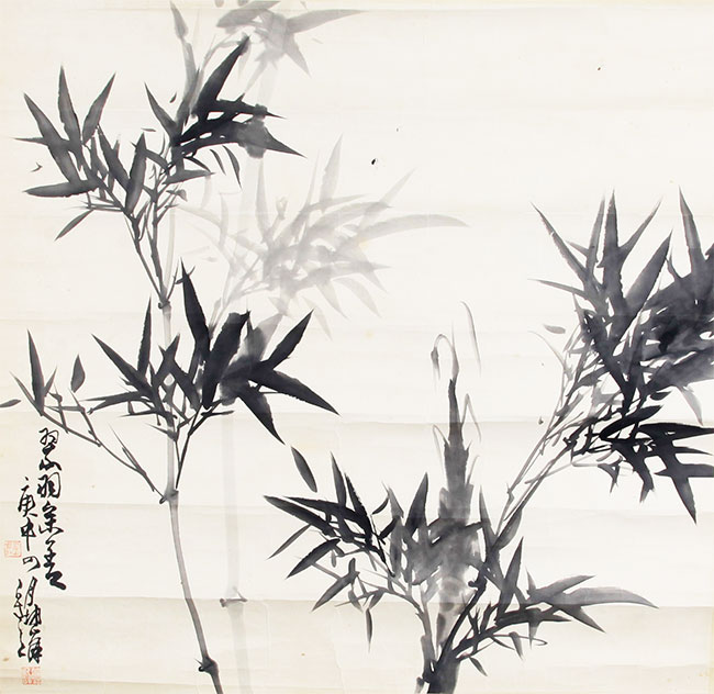 LU KUN FENG CHINESE PAINTING ATTRIBUTED TO
