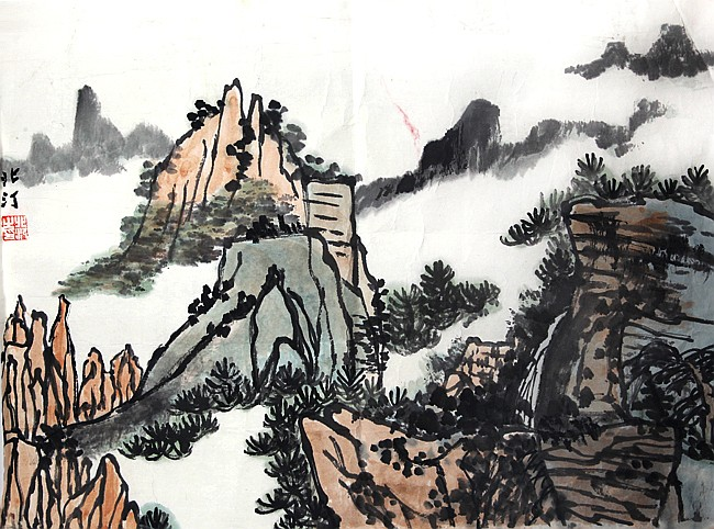 XU BEI DING (ATTRIBUTED TO 1908-1993)