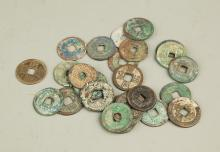 Group of Old Chinese Coin