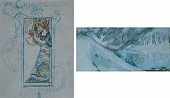 Leon Victor Solon (1872-1957), Exhibition cover