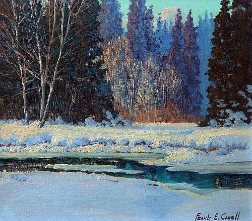 Frank E. Cavell (1909-), Canadian,