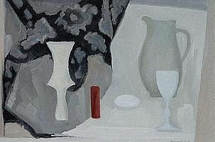 Margaret Firth (1898-1991), Still life with jug,