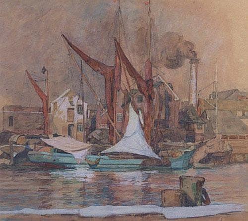 Leslie Moffat Ward R.E., S.G.A. (1888-1978),