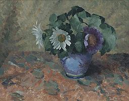 "Thomas Henslow Barnard (b.1898), ""Flowers in a"