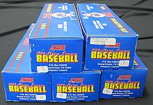 5 1989 Score Baseball Factory Sets