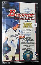 1998 Bowman Baseball Series Two Sealed Box