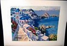 Serigraph by Howard Behrens