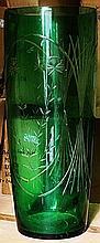 Gorgeaous Green Turkey Crystal Vase