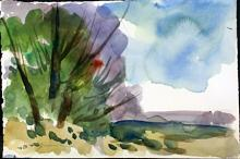 Unknown Artist Water Color