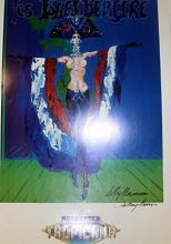 Les Folies Bergere BY Leroy Neiman