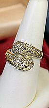 Lady's 14K Yellow Gold Diamond Ring(7)