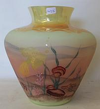 Original Frances Buton Custard Glass Vase (60/14DI)