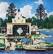 Salem Shipyard by Wooster Scott