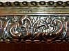 An Edward VII Silver Rectangular Box having all over embossed flo