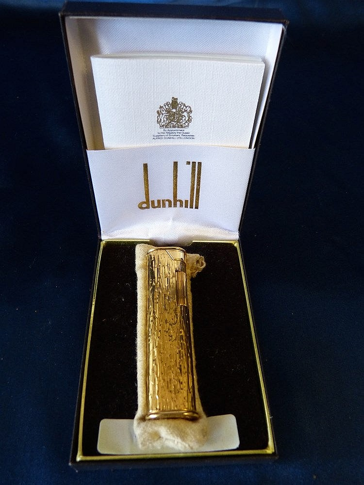 A Dunhill Lighter, boxed