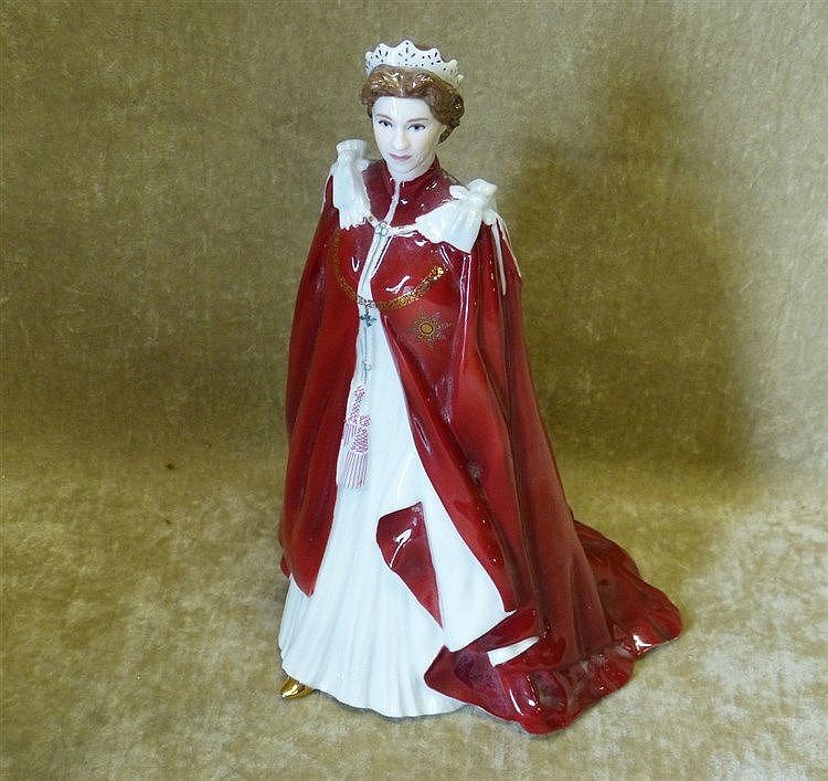 A Royal Worcester Figurine