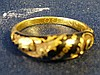 A 19th Century 18ct Gold and Black Enamelled Mourning Ring
