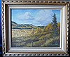 Marion E Barker Canadian Oil on Canvas, open landscape
