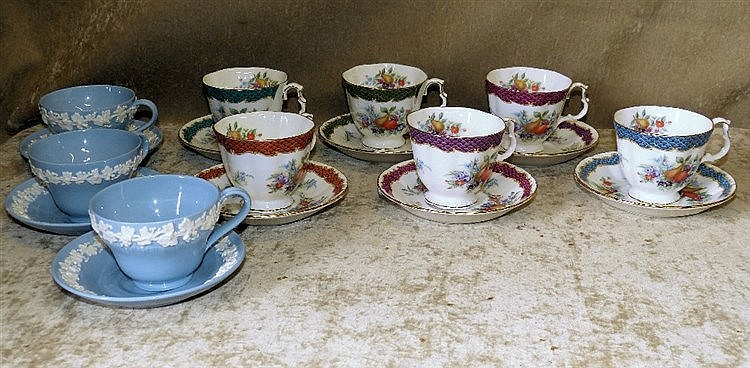 A Set of 6 Royal Albert Cups and Saucers