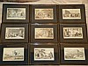 A Set of 9 Rowlandson