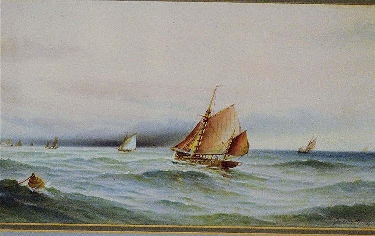 Garman Morris Marine Watercolour