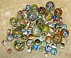 A Quantity of Various 19th and Early 20th Century Marbles, larges