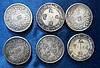 6 Oriental Coins