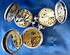 A Muret Silver Fob Watch and 2 other silver fob watches (3)