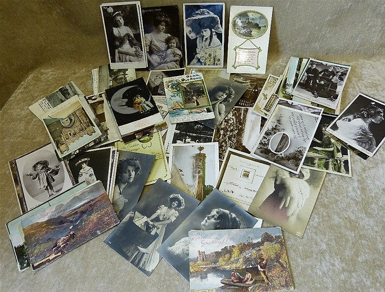 A Quantity of Various Edwardian and other Postcards, approximatel