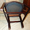 A Set of 4 George III Chippendale Style Mahogany Single Chairs ha