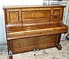 C Bechstein Victorian Rosewood Iron Framed Overstrung Upright Pia