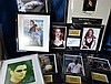 8 x Various Framed/Mounted Autographed Pictures
