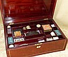 A 19th Century Mahogany Rectangular Shape Sewing Box having inlai