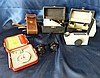 AD Leveridge Millimeter Gauge, cased, 2 refractometers and a pair
