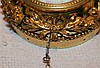 Lesvier A Troyes Fine Ormolu Circular Hanging Timepiece with mont