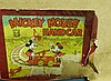 A Wells, London O'Gauge Clockwork Tin Plate Mickey Mouse Handcar
