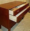 A Denmark BM Heals Style Teak Straight Front Chest of Drawers num
